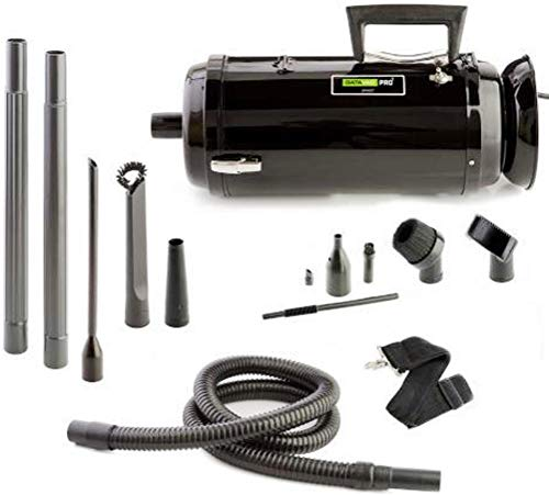 Mdv Series - Metro Vacuum MDV-3TA DataVac/3 Pro Series Toner Vac, 1.7-HP, 2 Speed Motor