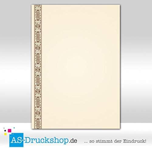 Designpapier Textur 150 g-Papier Aquarell 50 Blatt DIN A4 Struktur