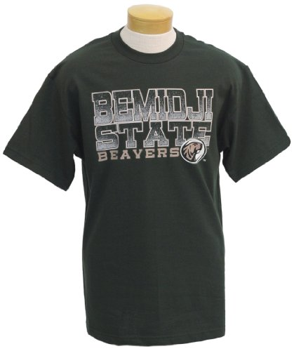 NCAA Bemidji State Beavers Men's Acho Short Sleeve T-Shirt (Forest Green, XX-Large)