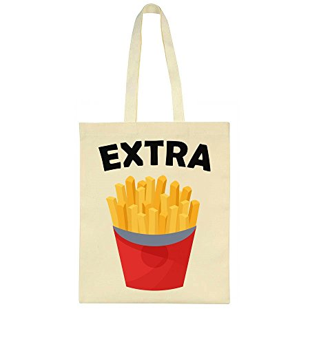 Tote Fries Tote Extra Extra Fries Bag Bag Extra Fries Tote 4qwEt