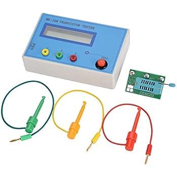 Akozon Multi-functional Transistor Tester, MK-168 Transistor Tester Diode Triode Capacitance Resistance ESR RLC LCR NPN PNP MOS Meter, Automatic Checker ...