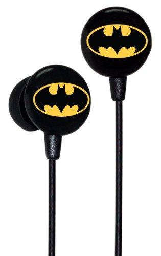 iHip Classic Batman Logo Hi-Fi Noise Reducing Ear Buds at Gotham City Store