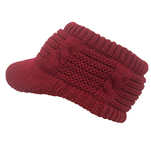 URIBAKE ❤ Women's Peaked Cap Knitted Wool Hat Hollow Out Solid Fashion  Outdoor Caps