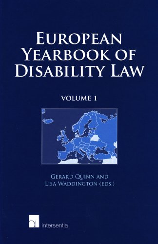 European Yearbook Of Disability Law: Volume 1