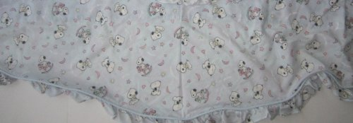 Peanuts My Little BABY SNOOPY - Lambs & Ivy - Scalloped Valance Curtain Snoopy Curtain