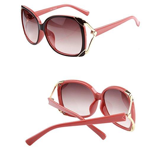 de grande de Driving Travel B marco sol Gafas polarizada C Gafas de Protección solar Sra Color ZHIRONG moda Glasses AxZ5wt