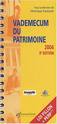 Lire Vademecum du patrimoine 2004 pdf