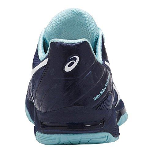 Asics Womens Gel-solution Speed 3 Scarpe Da Tennis Indaco Blu / Bianco / Blu Porcellana