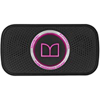 Monster SuperStar HD Bluetooth Speaker, Black/Neon Pink-Ultra compact, Water-resistant