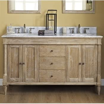 this item fairmont designs 142v6021d rustic chic 60 inch vanity double bowl in weathered oak