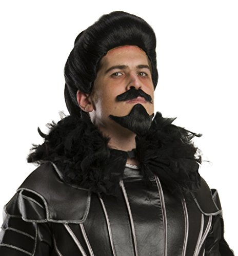 Rubie's Men's Pan The Journey Begins Blackbeard Wig Beard Set, Black, One (Blackbeard Costume Beard)