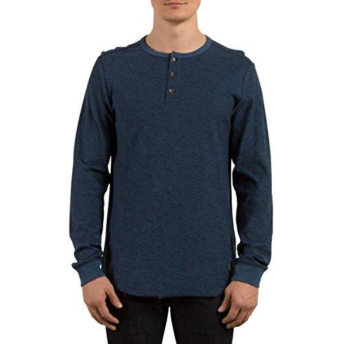 Volcom Men's Moxie Long Sleeve Shirt, SMB, S Moxie Long Sleeve