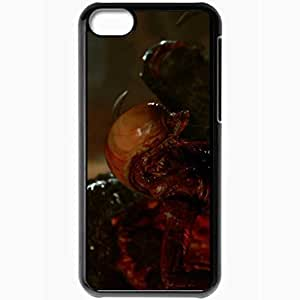 Personalized iPhone 5C Cell phone Case/Cover Skin Alien3 Black
