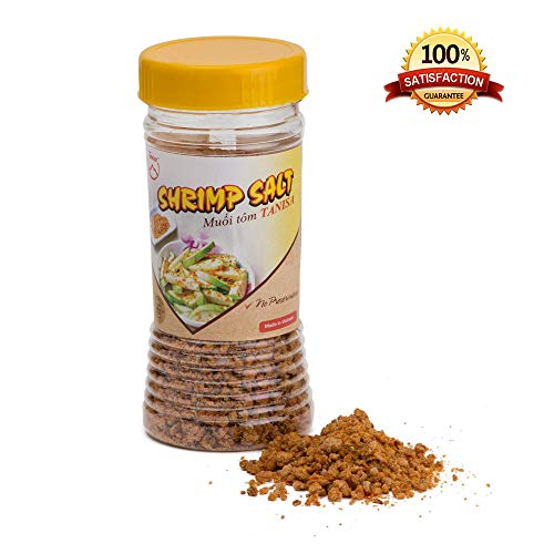 - Tanisa Chili Shrimp Salt for dipping fruits, seasoning - Muoi tom Tay Ninh (3.5 oz / 100 gr)