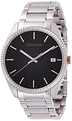 Calvin Klein K5R31B41 Mens Alliance Silver Steel Bracelet Watch