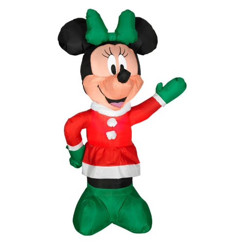 Minnie Mouse Outdoor Christmas Lights - 5