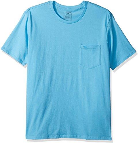 Dockers Men's Crewneck Pocket Short Sleeve T-Shirt, Blue Gro