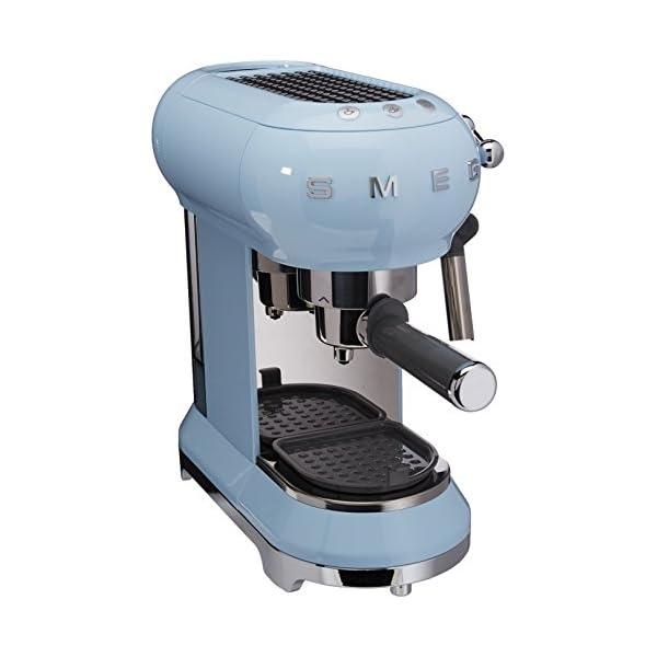 Smeg Espresso Machine Pastel Blue ECF01 PBEU 1
