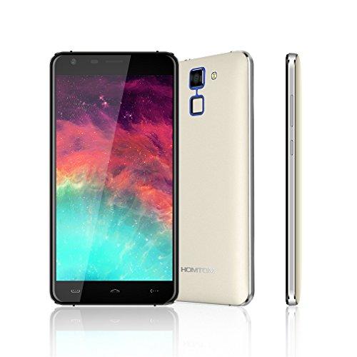 HOMTOM HT30 -5.5 Zoll 3G Dual SIM Quad Core Android 6.0 Smartphone(MTK6580 1.3GHz Quad Core HD 1280*720 pixels, Fingerabdrücken, 8GB ROM+1GB RAM) Dual SIM 3000mAh Akku, ohne vertrag