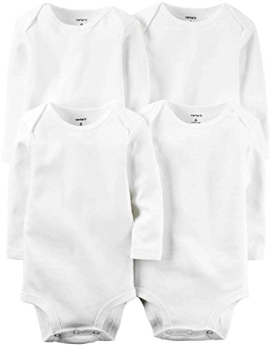 carters-unisex-baby-white-multi-pack-bodysuits-126g388-3-months