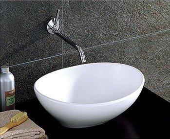 Incroyable BATHROOM COUNTERTOP OVAL CERAMIC BASIN SINK HS02