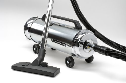 Metropolitan Professionals ADM-4SF 11.25 Amp 4-Horsepower Canister Vacuum with Quadruple Hepa Filtration (Line Pro Framers Combo System)