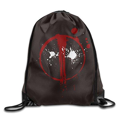 IYaYa Dead Pool Drawstring Backpack Gym - Michael Las Americas Kors