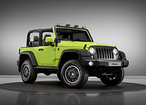 Jeep Wrangler Rubicon MoparONE Pack  Car Print on 10 Mil Arc