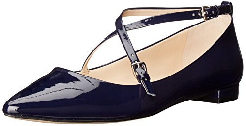 Image of Nine West Women's Anastagia Synthetic Pointed Toe Flat