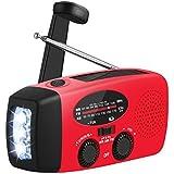 oenbopo ラジオ 多機能 ライト付き FM/AMラジオ 3つ給電式 防災 懐中電灯 SOS 停電 地震などの緊急に対応