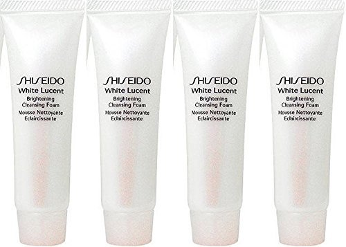 Shiseido White Lucent Brightening Cleansing Foam w 30ml x 4 tubes (120ml) Travel size