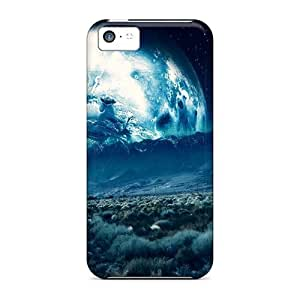Hard Plastic Iphone 5c Case Back Cover,hot Space Abstract Case At Perfect Diy