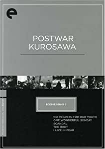Eclipse Series 7: Postwar Kurosawa (No Regrets for Our Youth / One Wonderful Sunday / Scandal / The Idiot / I Live in Fear) (The Criterion Collection)