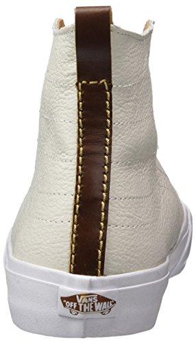Furgoni Da Uomo Sk8-hi Decostruito California - Pelle Premium (bianco / Inverno)
