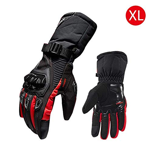 Laideyilan Gloves Motorcycle Gloves Waterproof and Warm Four Seasons Riding Motorcycle Anti-Fall Cross-Country Gloves