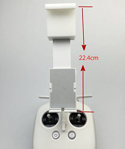 Jack-Store 3D Printed Extended Mount for DJI Phantom 3 / Inspire 1 Mobile Device Holder to Clip 12.9inch 13inch Tablets Ipad Air