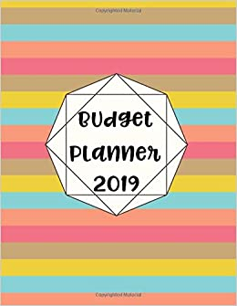 budget planner 2019 12 month budget planner book weekly expense