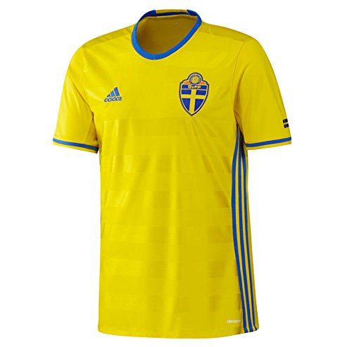 da5200a4168 2016-2017 Sweden Home Adidas Football Shirt - Buy Online in Oman. | Sports  Apparel Products in Oman - See Prices, Reviews and Free Delivery in Muscat,  Seeb, ...
