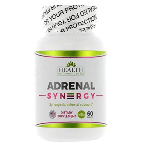 (Adrenal Syn3rgy Physician Formulated (Ashwagandha, Holy Basil, Rhodiola) - 60)