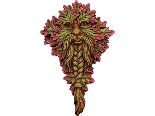 (Nemesis Mabon Wisdom Wall Plaque - Tree Spirit Plaque - Fantasy Mystic Sign)
