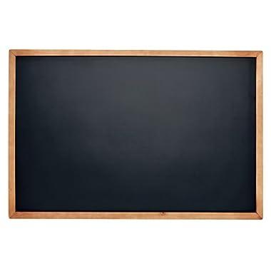 Vintage Wooden Framed Magnetic Chalkboard Sign - 24x36  by VersaChalk