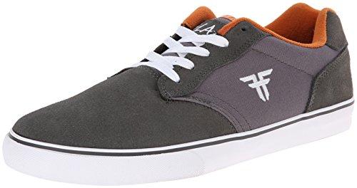 FALLEN SLASH CEMENT GRAY/ACID ORANGE HANSEN Signature Skate Shoes Sz 13