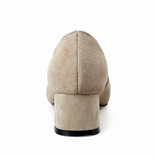 MissSaSa Damen Geschlossen Pointed Toe Pumps Kamel
