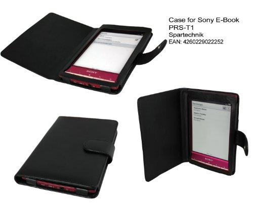 Tasche für Sony PRS-T1 von Spartechnik - bestes Case Hülle Etui Tasche für Sony E-Book Reader Elektronisches Buch PRS T1 - schwarz