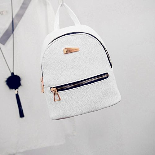 Amazon.com : Women Mini Backpack PU Leather College Shoulder Satchel School Rucksack Ladies Girls Casual Travel Bag : Baby