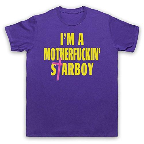 Inspiriert durch The Weeknd Daft Punk Starboy Inoffiziell Herren T-Shirt:  Amazon.de: Bekleidung