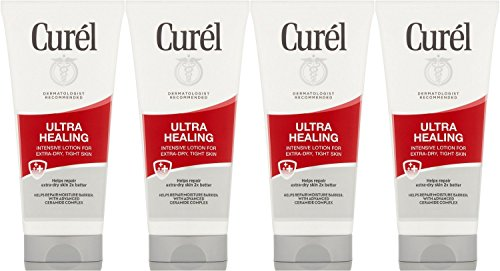 Curel Ultra Healing Lotion, 2.5 Ounce (Pack of 4) ()