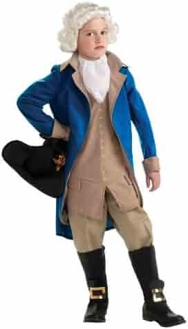 Rubie's Deluxe George Washington Costume – Medium