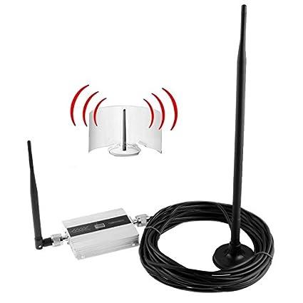 1Ajuste Pantalla LCD 2G GSM 900MHz 900 MHz mini teléfono celular amplificador de señal del repetidor