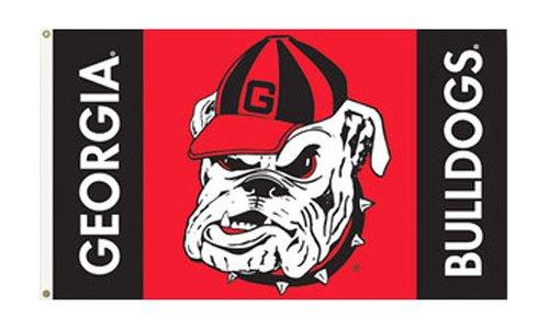 3' X 5 Bulldog (University of Georgia (Bulldog) - 3' x 5' NCAA Polyester Flag)